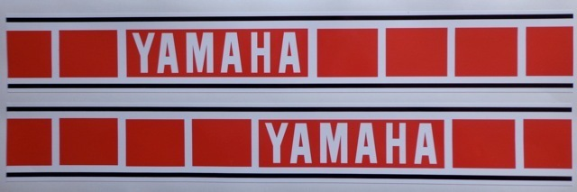R servoir dtmx vintage stickers for Decoration yamaha