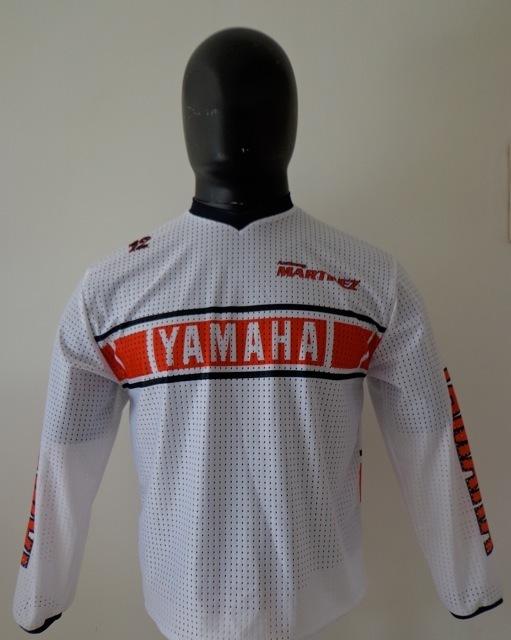 maillot yamaha 80s vintage stickers. Black Bedroom Furniture Sets. Home Design Ideas