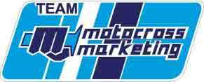 MOTOCROSS MARKETING bleu-blanc