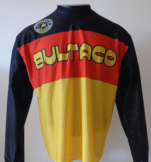 maillot bultaco vintage stickers. Black Bedroom Furniture Sets. Home Design Ideas