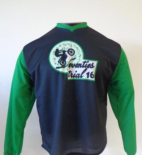 "Maillot ""Seventies trial 16"""