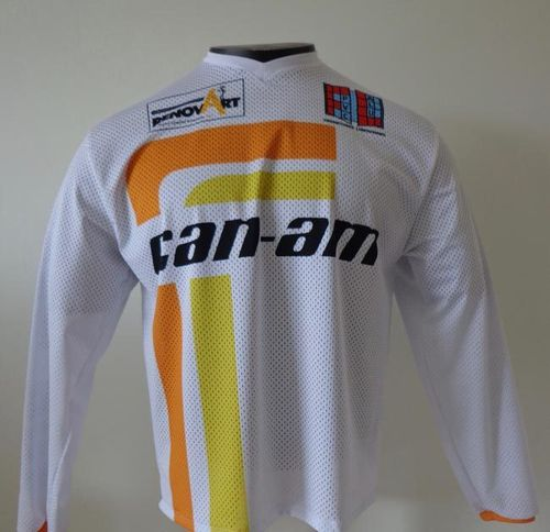 Maillot CAN-AM blanc