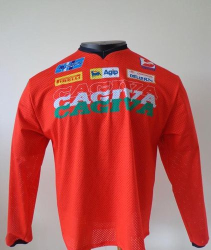 Maillot CAGIVA rouge